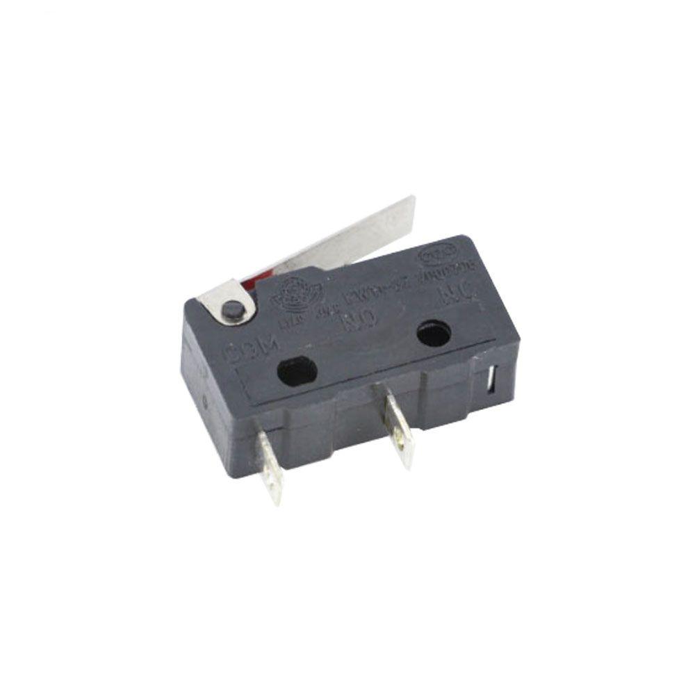 10pcs LIMIT Switch 2PIN N / O N / C 5A250VAC Microswitch KW11-3Z Mini Micro Micro Switch Original de vendas
