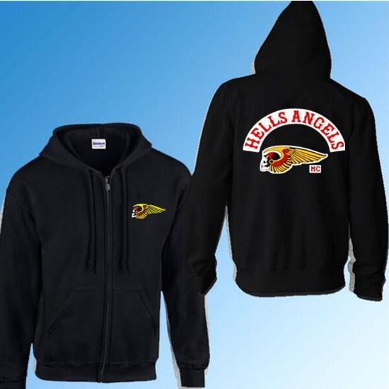 2019 Wholesale Support 81 World Sweatshirt Hooded Hells Angels Hoody Men  Cotton Hoodies Coat From Humphray, $54 2 | DHgate Com