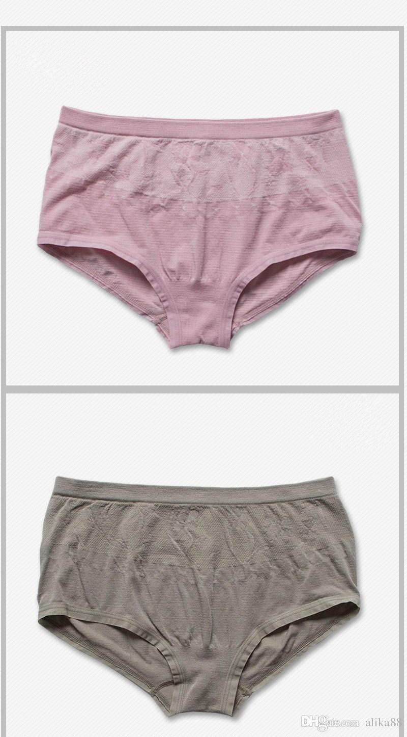 2017 Women Panties / Seamless Ladies Panties Mid Rise Medium Size ...
