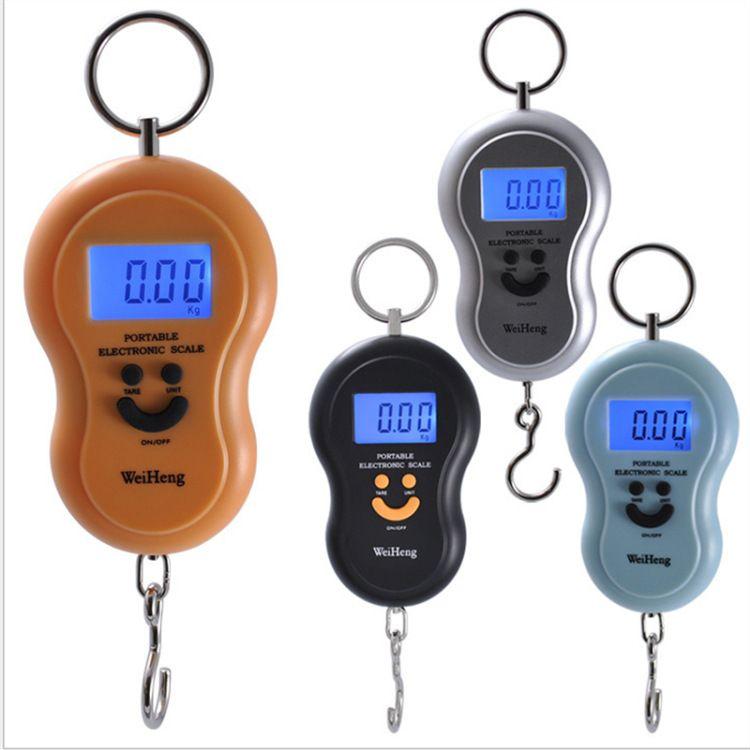 Portable 40kg//10g Electronic Hanging Fishing Digital Pocket Weight Hook Scale UK