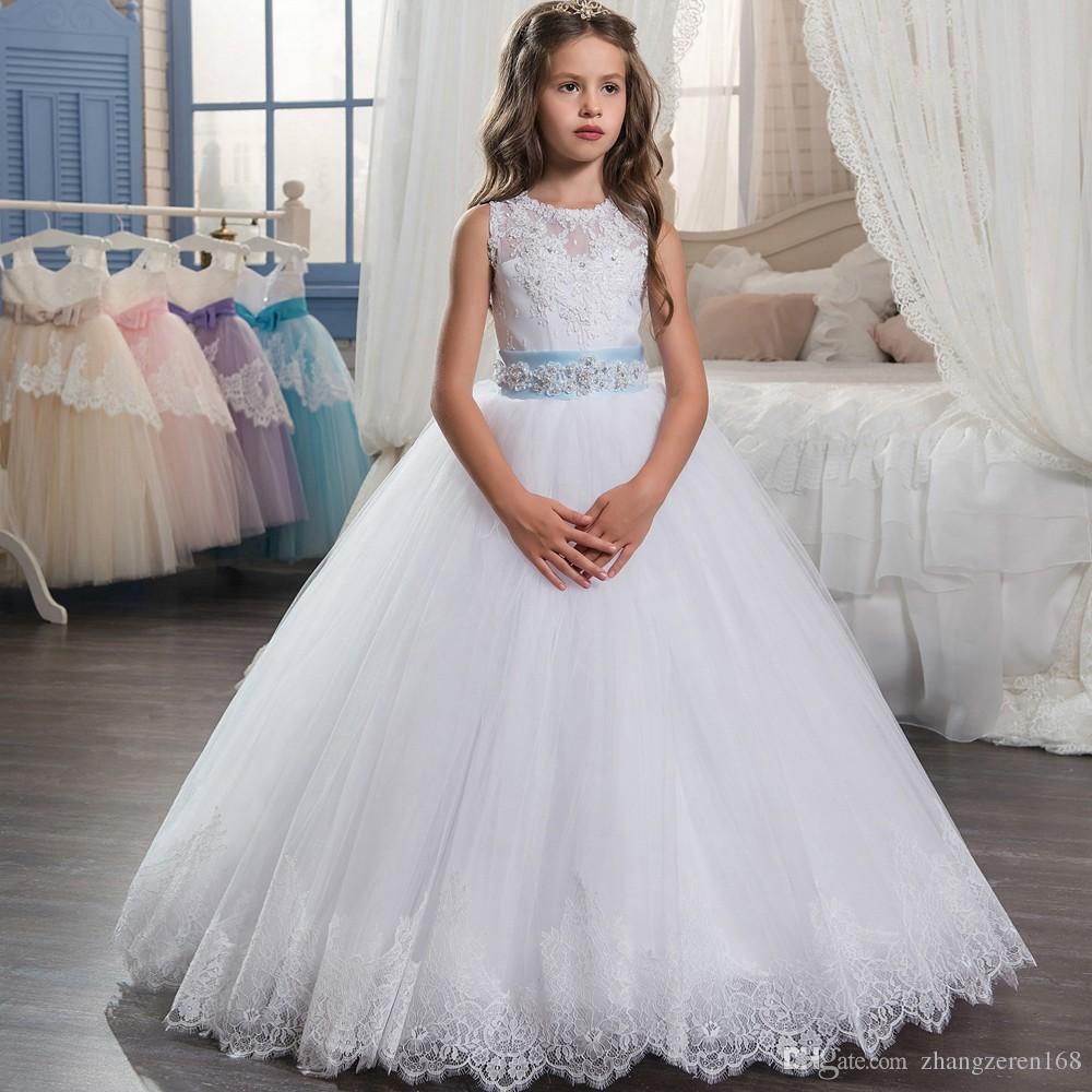 Long Puffy Prom Dress 2018