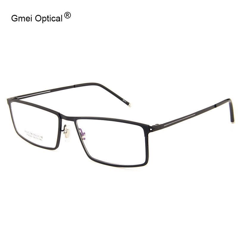 Toptan Satış - Gmei Optik LF2022 Metal Tam Jant Çerçeve Gözlük Kadınlar ve Erkekler için Gözlük Gözlükler