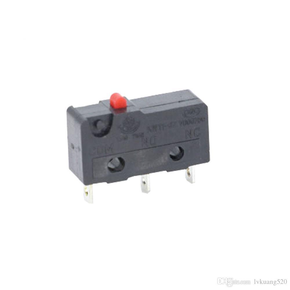 10PCS 3pin All New Limit Switch N/O N/C 5A250VAC KW11-3Z Mini Micro Switch Sessile Laser Machine Micro Limit Sensor