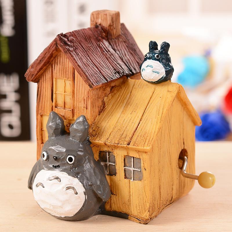 Un'amici salone creativo confezione regalo di compleanno paio gatto di casa la musica in resina box artigianale decorazione
