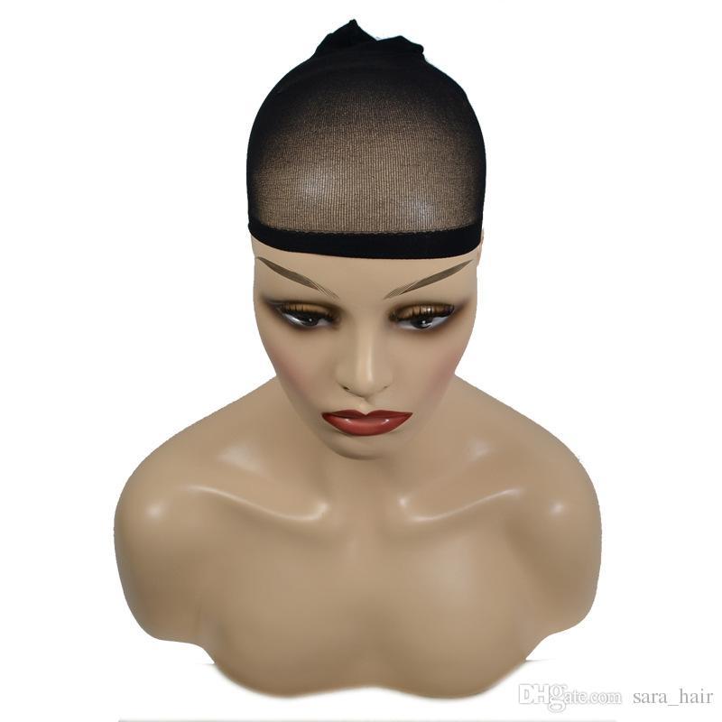 Hairnet Fashion Lace Hair Wig Cap Hair Net Adjustable15.5 * 8.5CM 5 PCS / Lot
