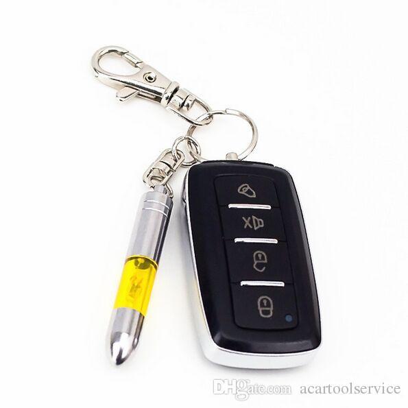 2 قطعة سيارة مكافحة ساكنة المفاتيح الجسم الساكنة المزيل الكهربائية الكنز إلكتروستاتيكي رصاصة صغيرة رصاصة صغيرة شكل المفاتيح سيارة الملحقات