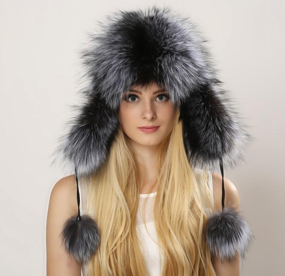 2021 Aviator Hat Womens Fur Hat Fluffy Brim Earflap Womens Real Fox Fur Hat Headbands Caps Winter Autumn Fashion Raccoon Fur Cap From Aaafur 35 18 Dhgate Com