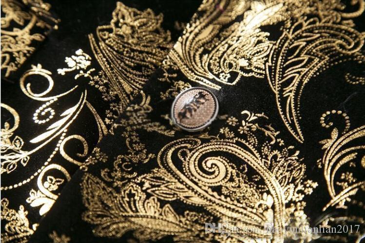 65d1d551a6872 Satın Al 2017 Yeni Marka Giyim Erkek Blazer Chaqueta Americana Hombre Moda  İş Dünyası Giydirme İnce Fit Outwear Suit Ceket Kılık Homme Takım Elbise,  ...