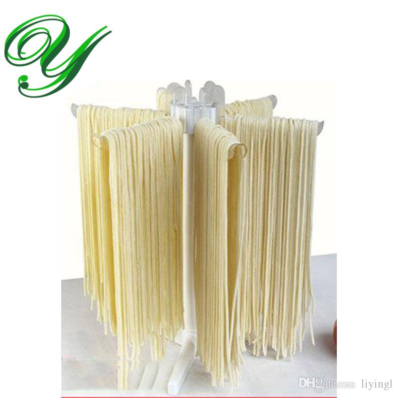 Pasta séchage rack Spaghetti séchoir Stand plateau pliable nouilles faisant la machine ravioli machine à coudre cuisine gadget outils de stockage étagères