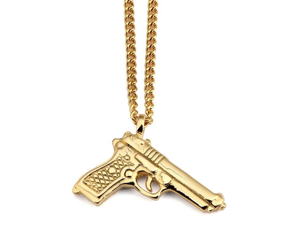 Gun Pendant Necklace_01