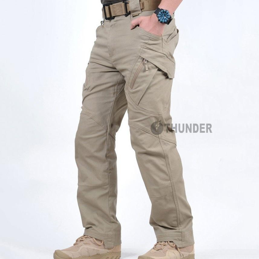 Men/'s City Cargo Pants Tactical Army Military Clothings Many Pockets Anti-tear