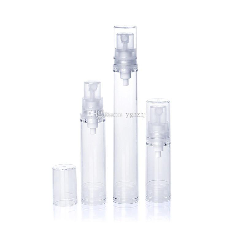 Wholesale 5/10ml vacuum bottle, small spray bottle, small watering can, cosmetic packaging bottles, sample bottles, free shipping