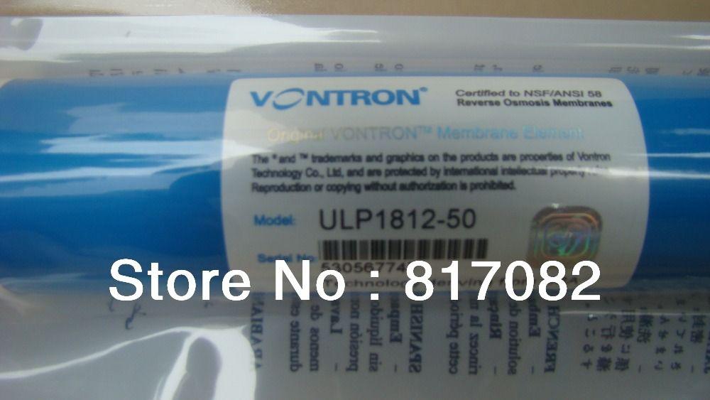 Tüm satış 25 adet Vontron ULP1812-50 Konut Su Filtresi RO membran NSF Kalite Mükemmel