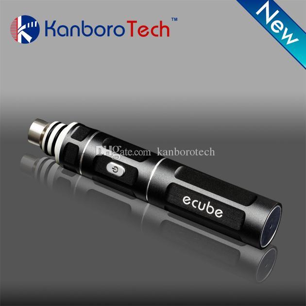 2018 Kanboro ECUBE портативного воска испаритель сухой трава Vape ручка для Ecig мазка набора инструментов буровой установки