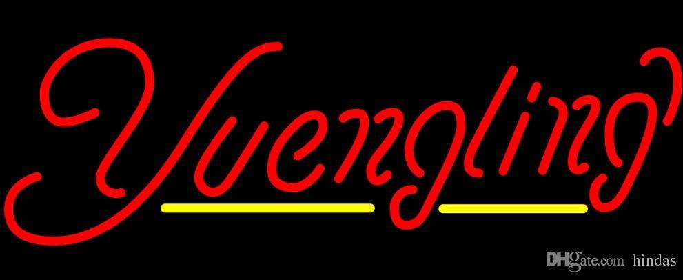 Yuengling Yellow Line Neon Sign 16x12 Neonzeichen führte Bier LIGHT Liebe NEON Hause