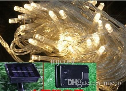 LED petites lanternes solaires lumières de la chaîne clignotant lumières décoratives de jardin paysage extérieur paysage imperméable fleur guirlandes