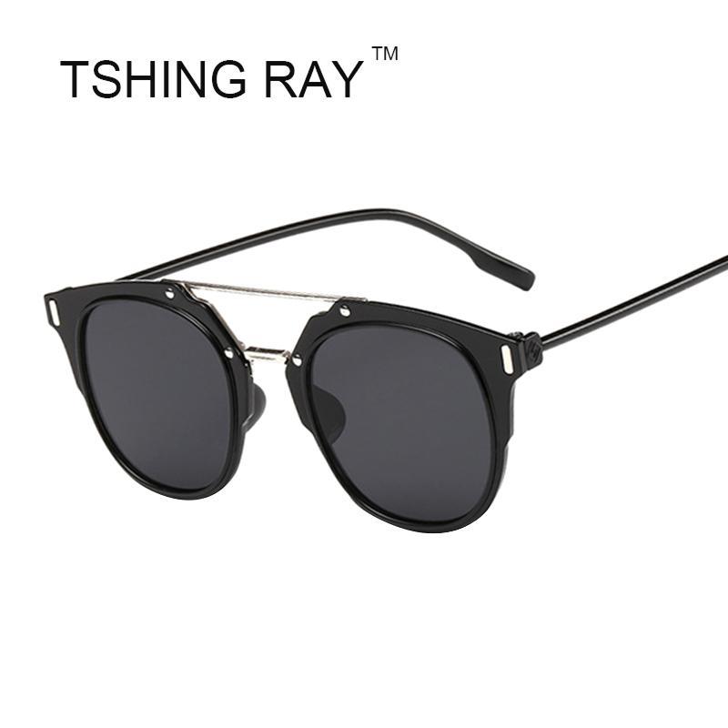 Wholesale-Fashion Composit-Sonnenbrille-Frauen-Superstar Verschleißabflachung Sonnenbrillen UV 400 Schutz Günstige Brillen