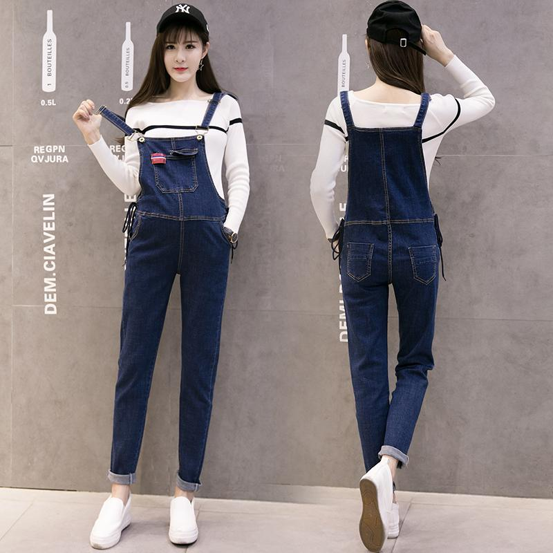 2021 Quality New Denim Maternity Jumpsuits Autumn Winter Fashion Denim Bib Jeans Pants For Pregnant Women Pregnancy Overalls From Mingway245 23 12 Dhgate Com