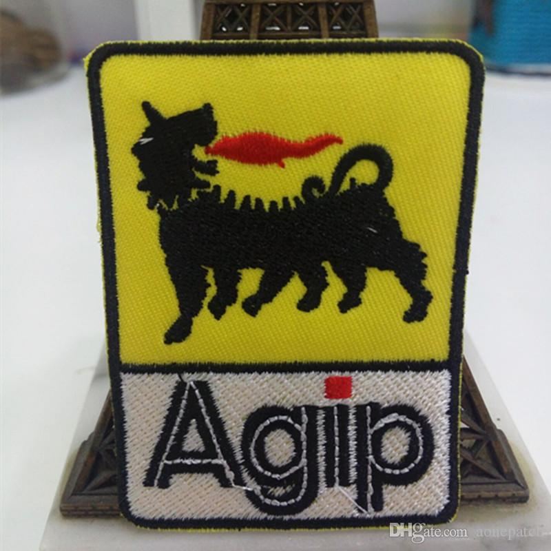 2019 Agip Letters Patches Embroidered Iron&Sew On Patch For Jacket Jeans  Clothing Backpack Badge Fabric Sewing Patch From Aonepatch, $75 38  