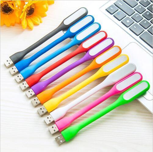 100 pcs Colorido Flexível USB LED Luzes Da Lâmpada de Luz para o Teclado Do Computador Lendo Notebook Laptop HOT! 0001