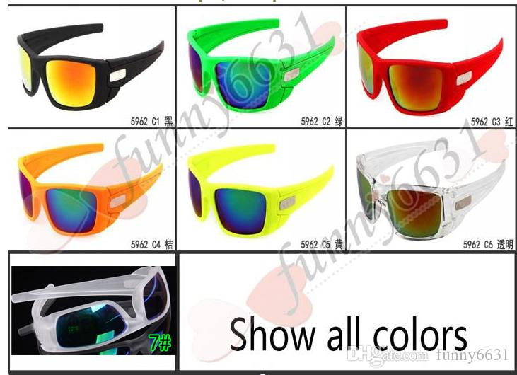 summer newest style man sport 7 colors sunglasses Cycling glasses woman NICE FACE Take the sunglasses Dazzle colour glasses free shipping