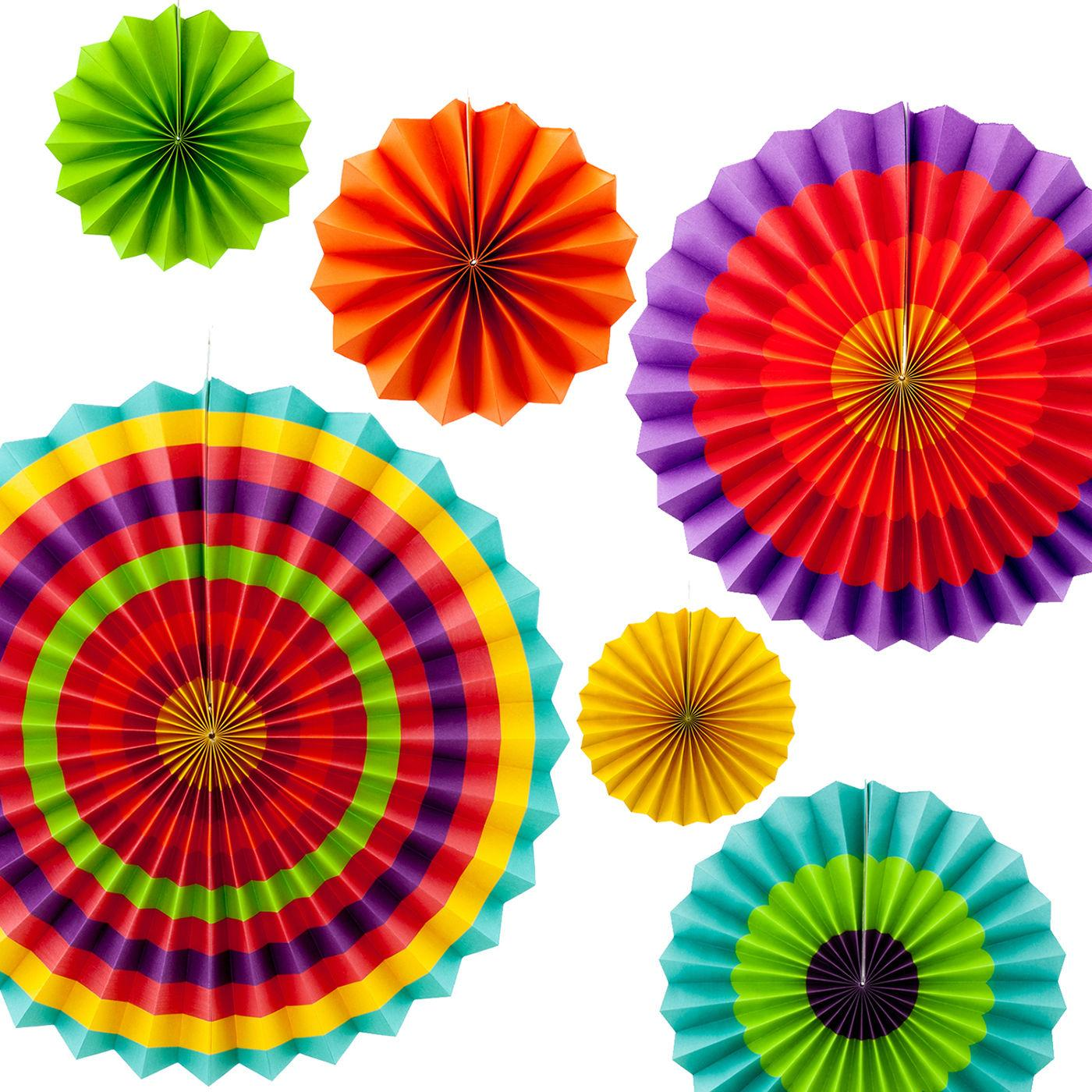 2019 Fiesta Paper Fans Decoration Ful Yellow Orange Green Cinco De Mayo Party For Party Birthday Weding From Siweexautoparts 3 66 Dhgate Com