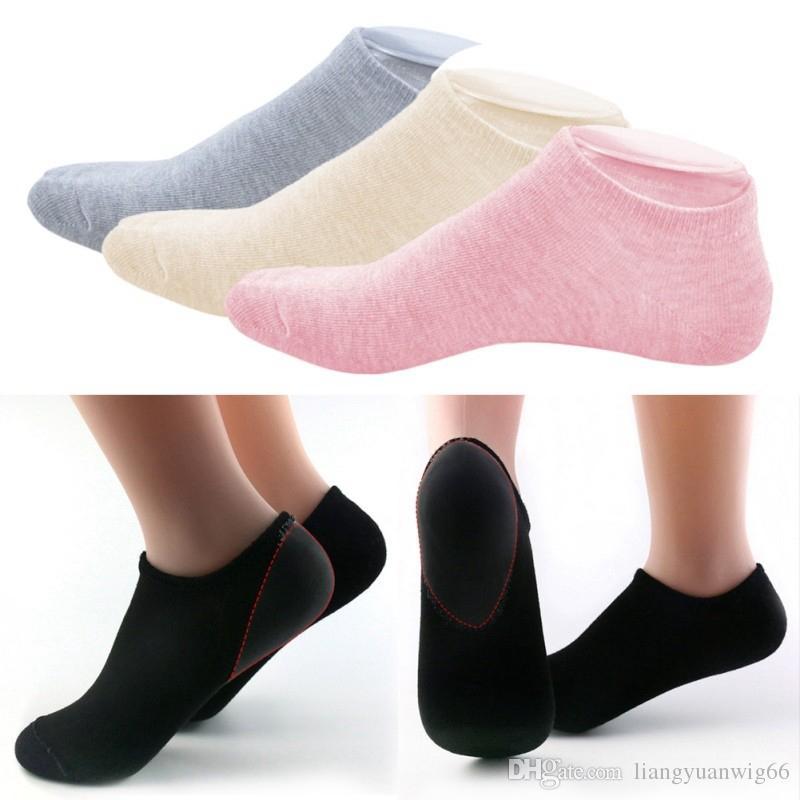 1 paire de chaussettes de réparation hydratantes et adoucissantes craquelées pour les pieds au sec