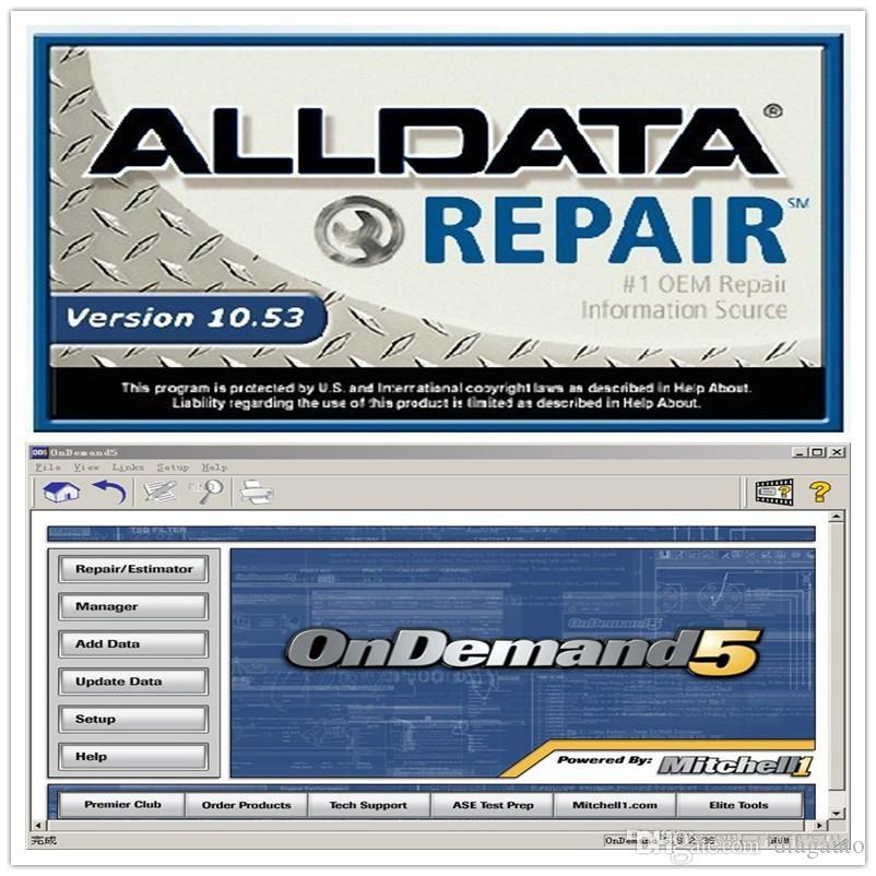 750 GB hdd yeni ALLDATA ve Mitch * l yazılımı ALLDATA 10.53 (576gb) + Mit 5 122TR