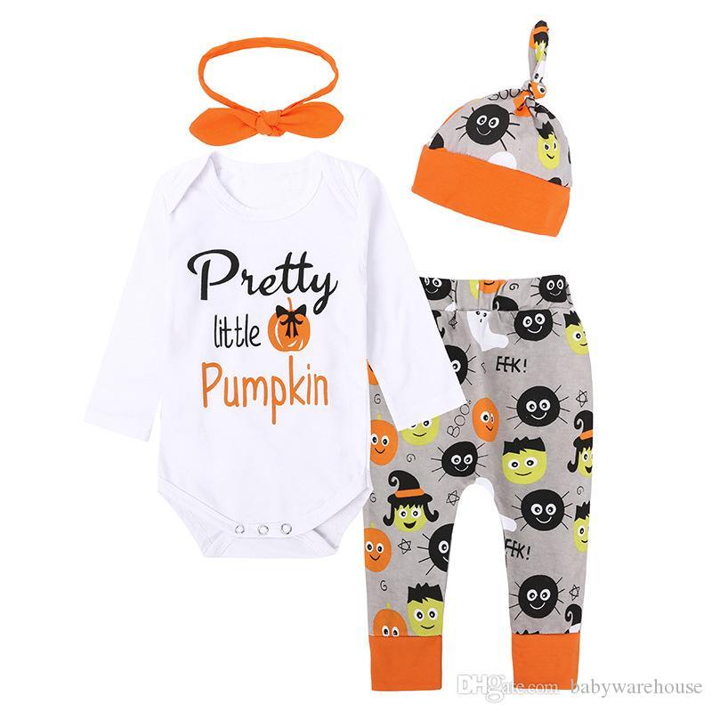 1 Set Halloween Newborn Boy/&Girl Kids Tops+Pants Baby Outfits Clothes Romper