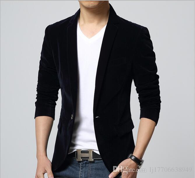 2017 Casual Suits Men'S Large Size Small Suit Foreign Trade Korean ...