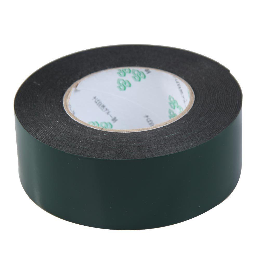 Wholesale- 2016 SOSW-Multifunction Black Sponge Foam Double Sided Adhesive Tape (50mm*10m)