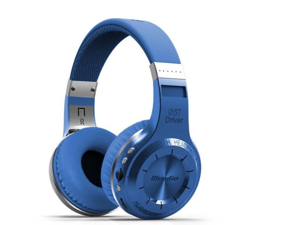 Bluedio H + (촬영 브레이크) 무선 블루투스 헤드폰 BT 4.1 스테레오 블루투스 헤드셋 통화를위한 FM 라디오 SD 카드 solut