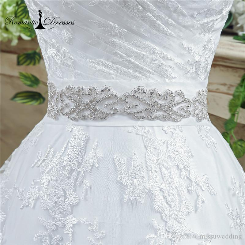 5502985a4b4 Lace Ball Gown Wedding Dresses Romantic Dresses Real Photos Crystal Belt  Lace UP Back China Cheap Wedding Bridal Gowns 35269. SIZE CHARTS