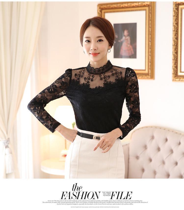 lace blouse 522