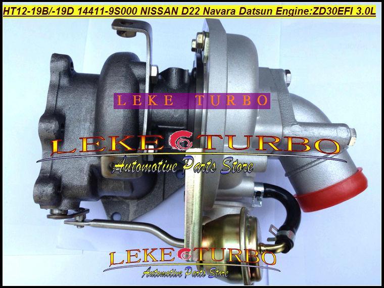 Compre HT12 19B HT12 19D 14411 9S000 14411 9S002 Turbo Turbocompressor Para  NISSAN Navara D22 3 Litros EFI Datsun Caminhão ZD30 ZD30EFI 3 0L De