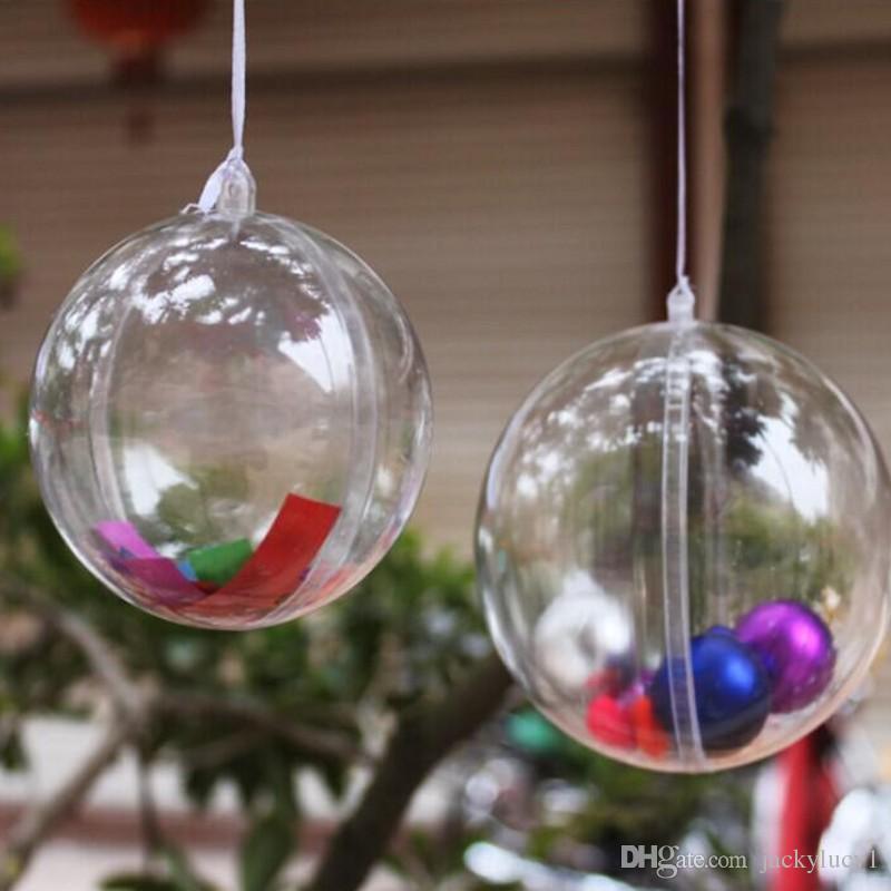 Klassischer Entwurf 4 cm kleine Weihnachtskugel-Verzierung, die Süßigkeits-Geschenk-Kugeln 100pcs / lot Wedding ist Freies Verschiffen