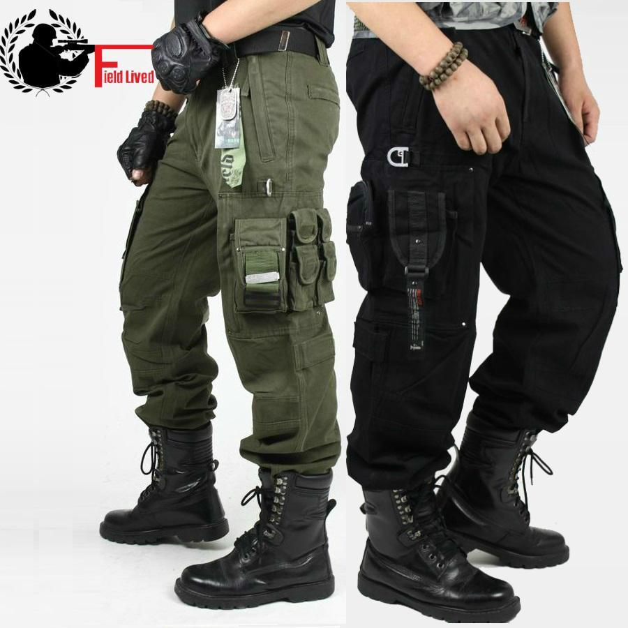 CARGO PANTS 오버올 남성 의류 밀리터리 TACTICAL PANTS MILITARY 무릎 패드 남성 US Combat Camouflage 육군 스타일 카모 바지