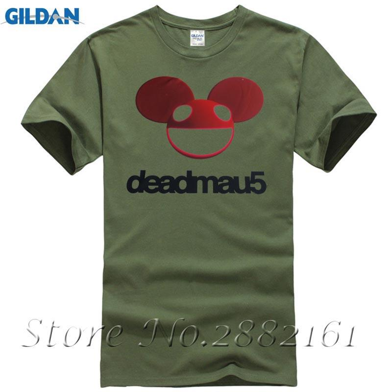 Deadmau5 Shirt Mens Classic Short Sleeve Tees Shirts Tops