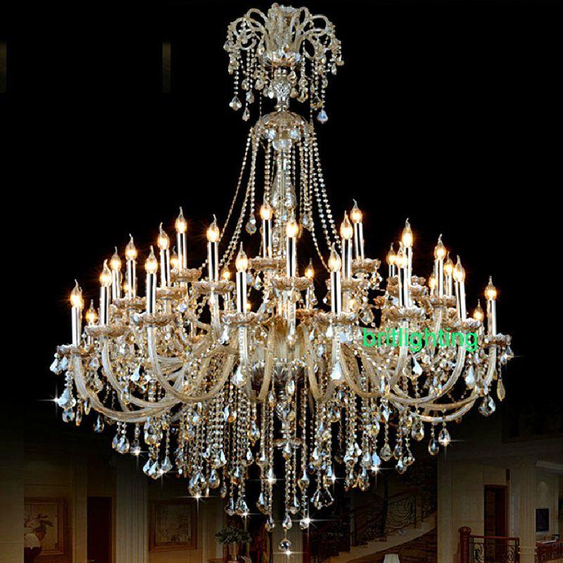 Avize kristal modern villa merdiven kristal avize led büyük otel salonu ledcrystal avizeler lüks ışık giriş holü avize
