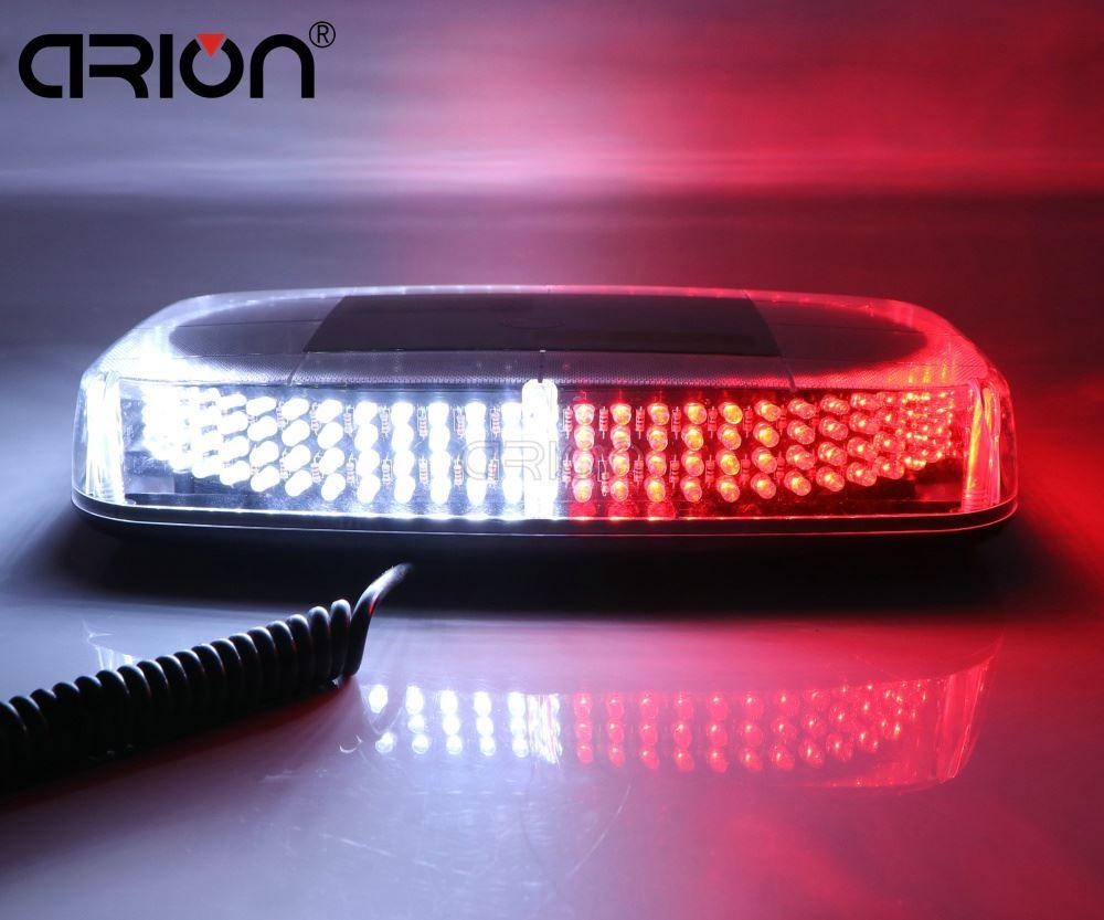 240 LED 자동차 차량 응급 위험 경고 미니 라이트 바 마그네틱 스트로브 플래시 경찰 조명 램프 레드 화이트 자동차 지붕 주도