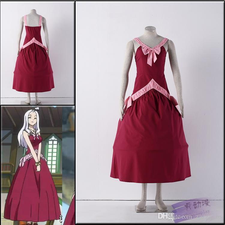 Fairy Tail Mirajane Strauss Cosplay Costume Red Dress Uk 2020 From Zazzycos Gbp 51 53 Dhgate Uk Fairy tail mirajane strauss cosplay costume. dhgate com