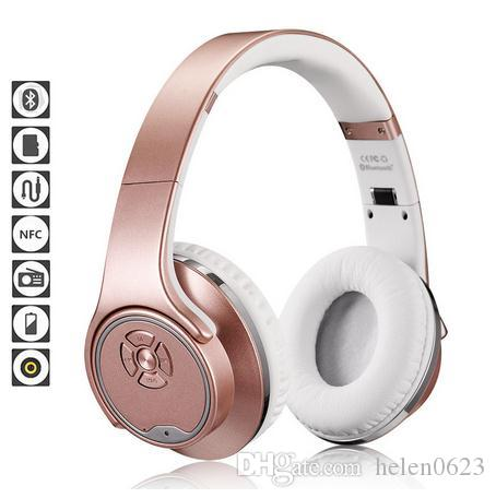 Bluetooth Headphone Speaker Bluetooth 4 2 Over Ear Headset Fm Radio Tf Card Aux In Hands Free Mic For Phones Computers Silver Dj Headphones Gaming Headphones From Helen0623 25 15 Dhgate Com