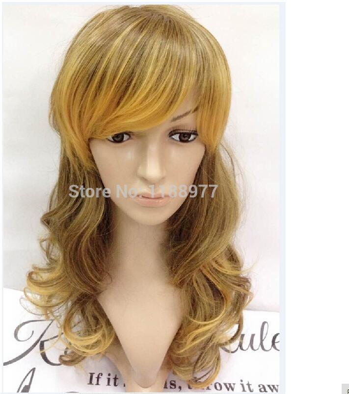 La nuova parrucca ondulata del corpo delle donne di pizzo Natrual WIgs del merletto marrone chiaro di Fasion del nuovo di Fasion libera il trasporto
