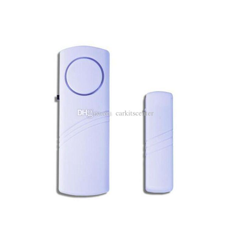 Alarma de puerta inalámbrica Sensor de puerta magnética Ventana de contacto Alarma de puerta para alarma doméstica Sistema de seguridad antirrobo