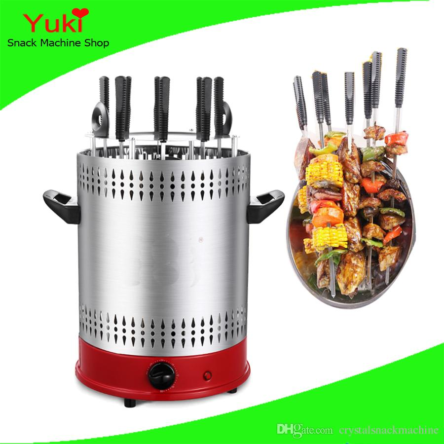Electric Vertical Kebab Grill Doner Kebab Machine Smokeless Rotary bbq Grill Electric Barbecue Grill Kebab Machine For Sale