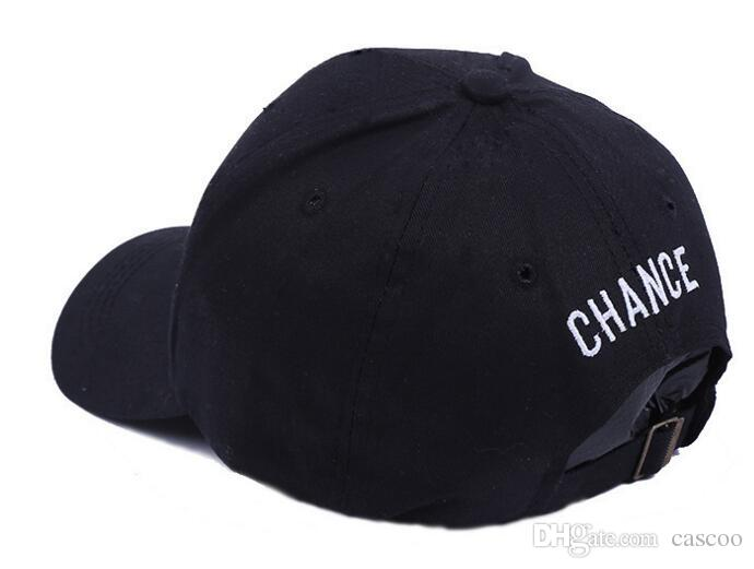 2 Pack Fashion Embroider Baseball Chance Caps Hats Cool Rapper Number 3 Rock