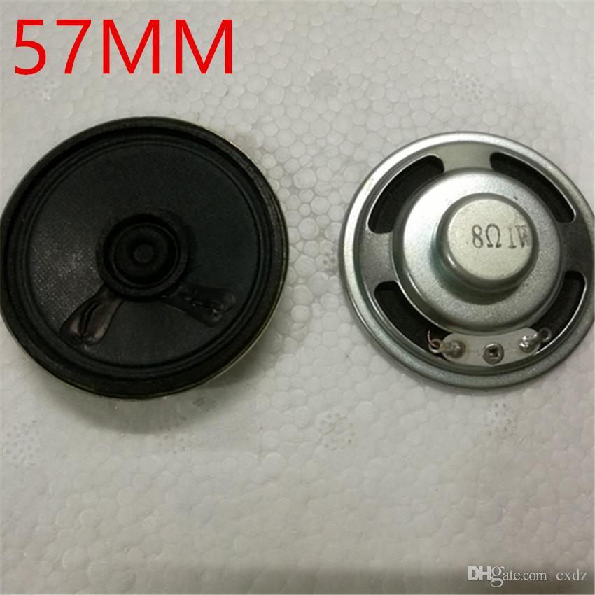 20pcs 57MM Pappteller Bass Demodex in magnetischen kreisförmigen Hornlautsprecher 1W8R8 Höhe von 12 mm