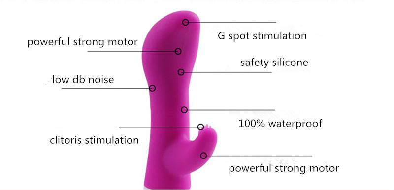 G spot Vibrator Clitoris Stimulator Dual Vibrator Penis Massager Dildo Vibrator Sex Toys for Woman Erotic Adult Sex Products 01