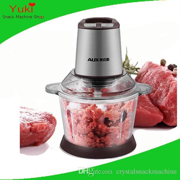 110v 220v hachoir à viande commerciale 400W cuisinière électrique viande hachoir à viande hachoir à viande en acier inoxydable écrou piment rectifieuse