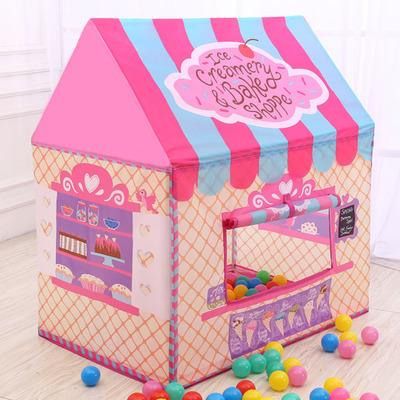 Lovely Girls Pink Princess Castle Cute Playhouse Children Kids Play Tent Outdoor Toys Tent Baby House & Lovely Girls Pink Princess Castle Cute Playhouse Children Kids ...